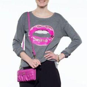 Sequins Lips Juicy Sweatshirt
